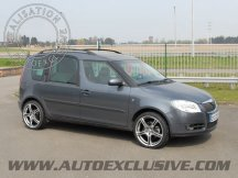 Vitres teintées pour Skoda Roomster